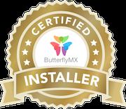 Certified ButterflyMX Installer
